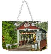 Somerset County Burkholder Covered Bridge Weekender Tote Bag