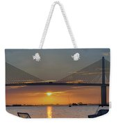 Something About A Sunrise Triptych 2 Weekender Tote Bag