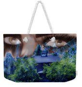 Something To Watch Over Me Weekender Tote Bag