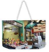 Something's Fishy Weekender Tote Bag by Lori Deiter