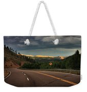 Sometime Life Throws You Curves, Enjoy The Ride Weekender Tote Bag