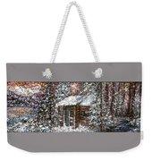 Sometimes In Winter Weekender Tote Bag
