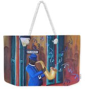 Somewhere On Bourbon Street Weekender Tote Bag