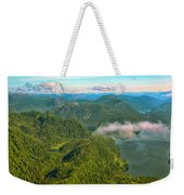 Over Alaska - June  Weekender Tote Bag