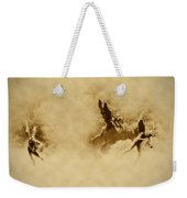 Song Of The Angels In Sepia Weekender Tote Bag