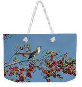 Song Of The Mockingbird Weekender Tote Bag