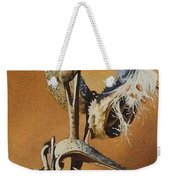 Song Sparrow And Milkweed Weekender Tote Bag