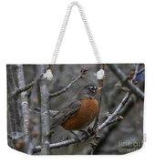 Songbird Evening Weekender Tote Bag