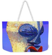 Songye Kifwebe Mask Weekender Tote Bag
