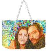 Sonia Marie And Her Sweetheart Weekender Tote Bag
