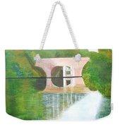 Sonning Bridge In Autumn Weekender Tote Bag