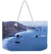 Sonoma Coastline After Dark Weekender Tote Bag by Jim Thompson