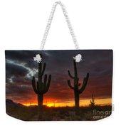 Sonoran Desert Sunrise 1 Weekender Tote Bag