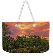 Sonoran Desert Sunset H44 Weekender Tote Bag