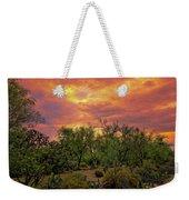 Sonoran Desert Sunset Op46 Weekender Tote Bag