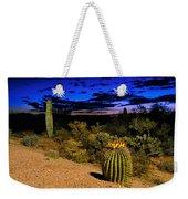 Sonoran Twilight Weekender Tote Bag