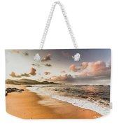 Soothing Seaside Scene Weekender Tote Bag