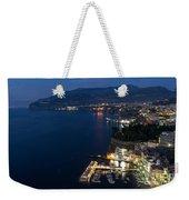 Sorrento Bay At Night Weekender Tote Bag