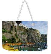 Sorrento Beach Weekender Tote Bag