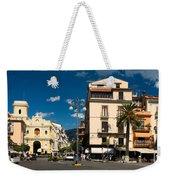 Sorrento Italy Piazza Weekender Tote Bag