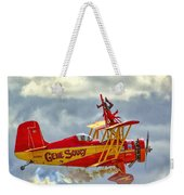 Soucy In Flight Weekender Tote Bag