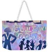 Soul Train 1 Weekender Tote Bag