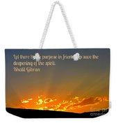 Soulful Friends Weekender Tote Bag