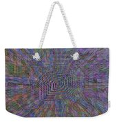 Sound Waves Weekender Tote Bag