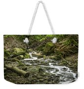 Sounds Of A Mountain Stream Weekender Tote Bag