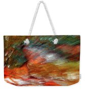 Sounds Of Thunder Abstract Weekender Tote Bag