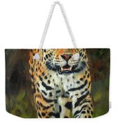 South American Jaguar Weekender Tote Bag
