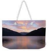 South Argentina Villarino Lake Weekender Tote Bag