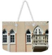 South Beach Balcony Weekender Tote Bag