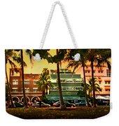 South Beach Ocean Drive Weekender Tote Bag
