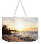 South Beach Sunset Weekender Tote Bag