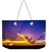 South Central Nebraska Sunset 008 Weekender Tote Bag