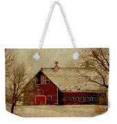 South Dakota Barn Weekender Tote Bag