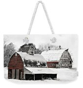 South Dakota Farm Weekender Tote Bag by Julie Hamilton