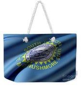 South Dakota State Flag Weekender Tote Bag