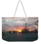 South End Sun Rise Weekender Tote Bag