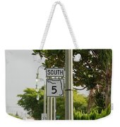 South  Florida 5 Weekender Tote Bag
