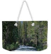 South Fork San Joaquin River - Kings Canyon National Park Weekender Tote Bag