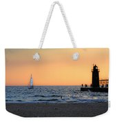 South Haven Sunset Weekender Tote Bag