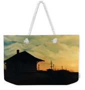 South Holland Train Station Weekender Tote Bag