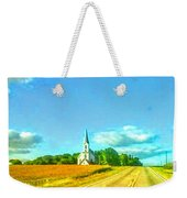 South Immanuel, On A Hill Far Away Weekender Tote Bag