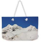 South Island White Peaks Weekender Tote Bag