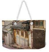 South Korean Hanok Street Weekender Tote Bag