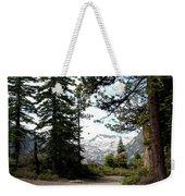 South Lake Tahoe Mountain Trail Weekender Tote Bag