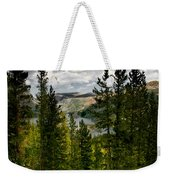 South Lake Through The Pines Weekender Tote Bag