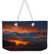 South Pacific Sunset Weekender Tote Bag
